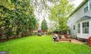 Fenced backyard - 46553 PEBBLEBROOK PL, STERLING