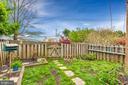 Fenced Rear Yard - 172 GOLD KETTLE DR, GAITHERSBURG