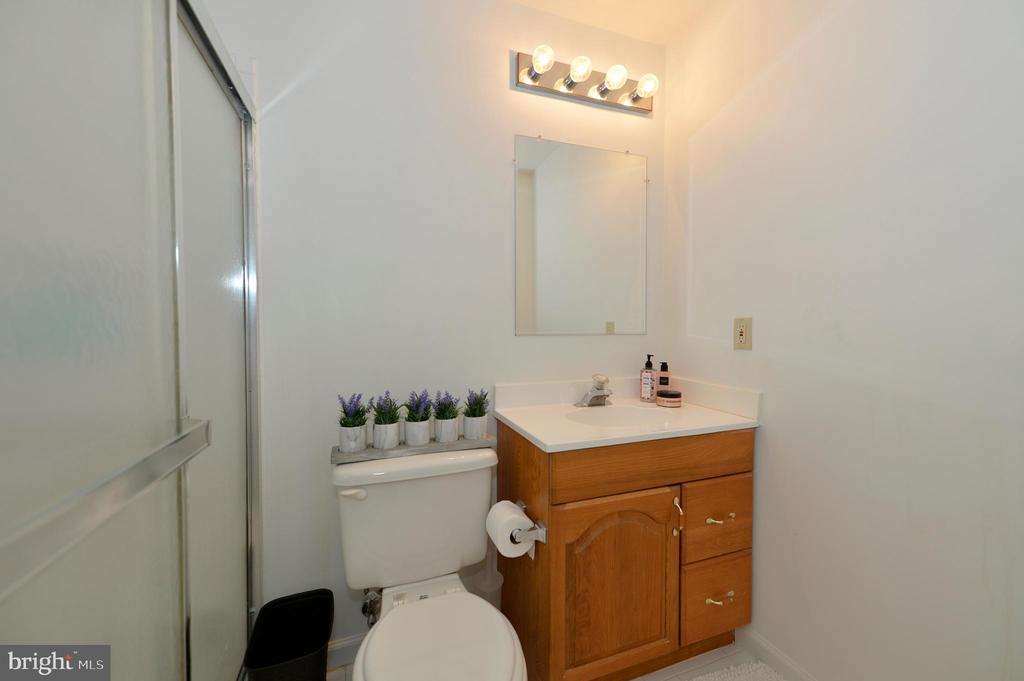 full bathroom in basement - 1403 CAMPBELL CT NE, LEESBURG