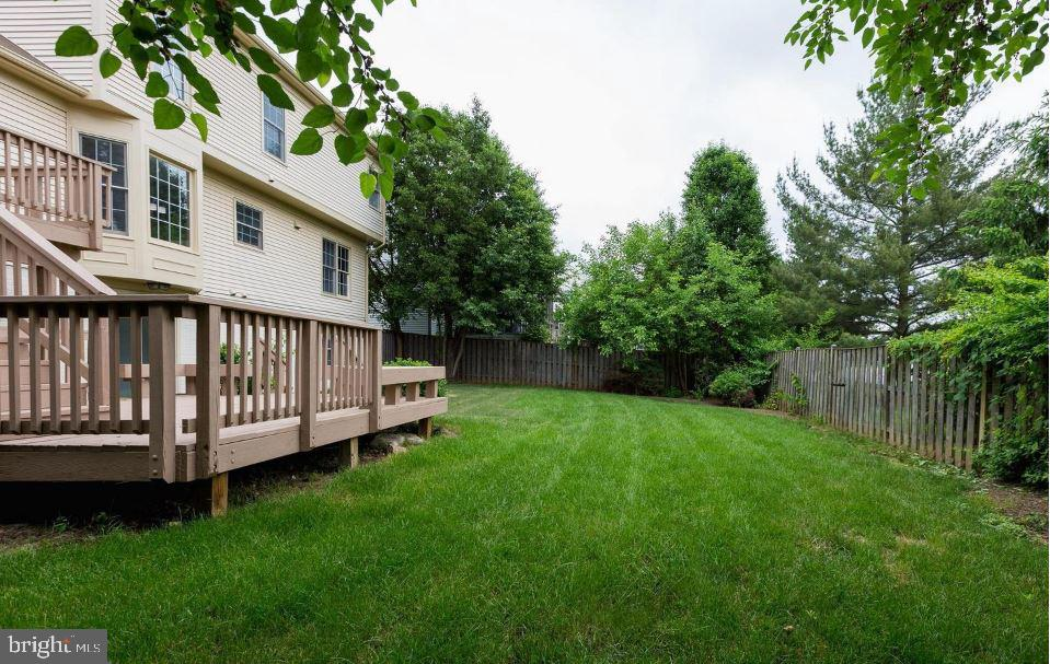 Backyard - 1403 CAMPBELL CT NE, LEESBURG