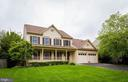Front of the house - 1403 CAMPBELL CT NE, LEESBURG
