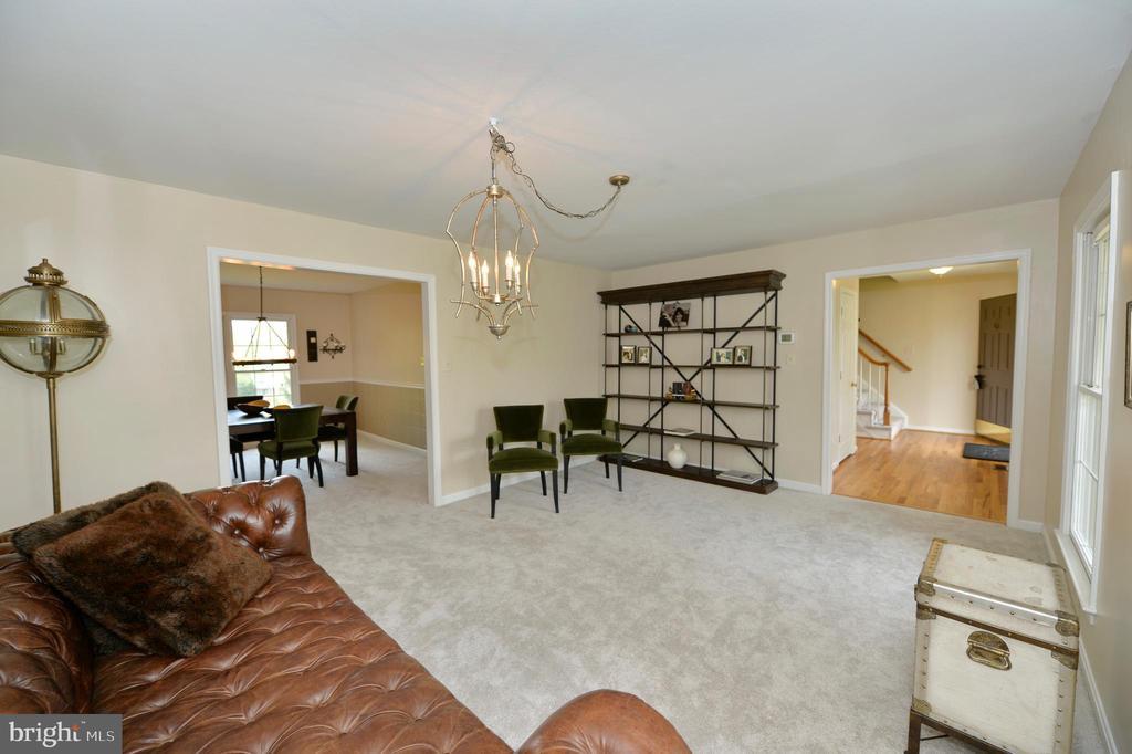 Formal living room - 1403 CAMPBELL CT NE, LEESBURG