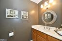 Powder room - 1403 CAMPBELL CT NE, LEESBURG