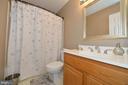 full bathroom upstairs - 1403 CAMPBELL CT NE, LEESBURG