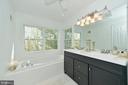 Master bathroom - 1403 CAMPBELL CT NE, LEESBURG