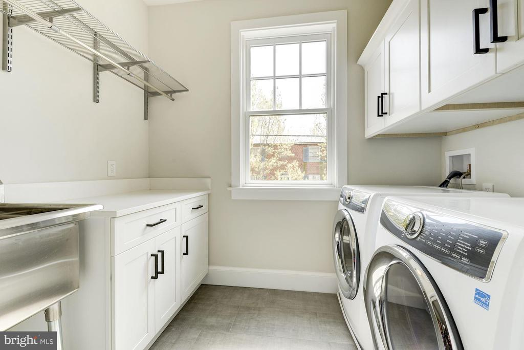 Second floor laundry room - 2939 STEPHENSON PL NW, WASHINGTON
