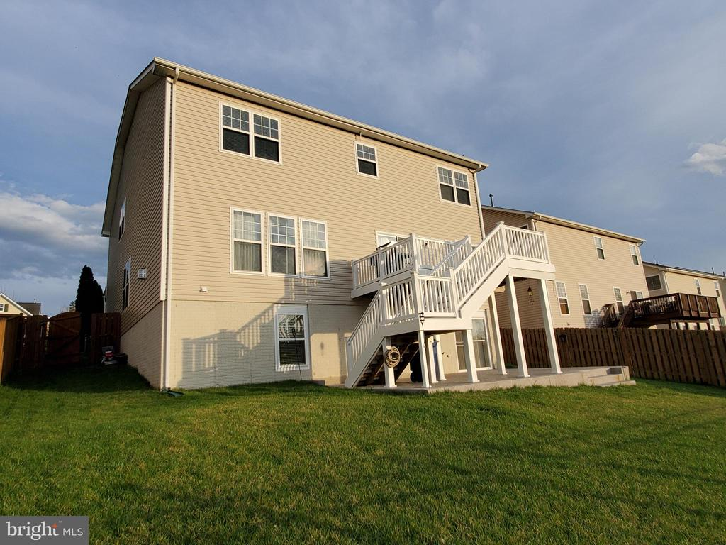 Rear view of the home. - 4152 AGENCY LOOP, TRIANGLE