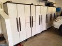 Storage cabinets convey, for extra tidy space. - 4152 AGENCY LOOP, TRIANGLE