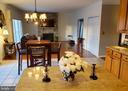 View from Kitchen into Family Room. - 4152 AGENCY LOOP, TRIANGLE