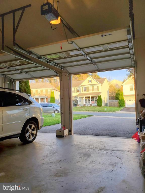 Automatic garage door openers plus keypad entry. - 4152 AGENCY LOOP, TRIANGLE