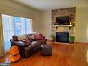 Custom draperies in the large Family Room. - 4152 AGENCY LOOP, TRIANGLE