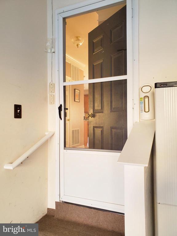 Storm door to garage. - 4152 AGENCY LOOP, TRIANGLE