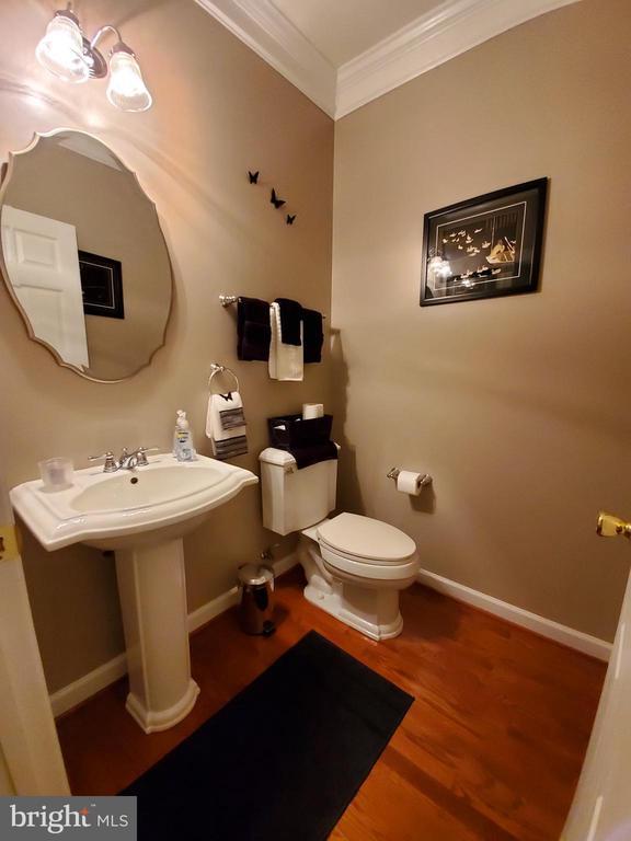 Main level half bath. - 4152 AGENCY LOOP, TRIANGLE