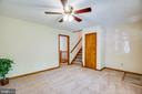 Living room - new carpet, freshly panted - 8427 BATTLE PARK DR, SPOTSYLVANIA