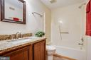 Renovations to the lower level bath - 8427 BATTLE PARK DR, SPOTSYLVANIA