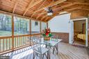Entertain on your screened porch - 8427 BATTLE PARK DR, SPOTSYLVANIA