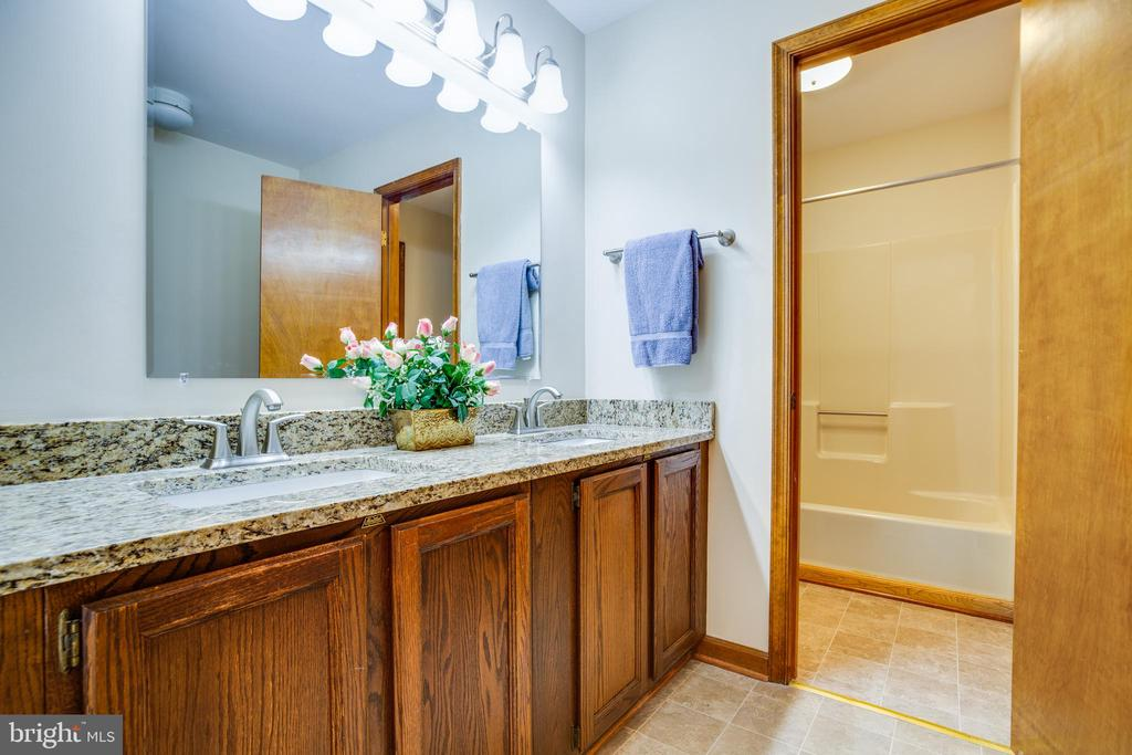 Upgrades to the bathroom - 8427 BATTLE PARK DR, SPOTSYLVANIA