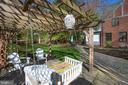 Gazebo and sitting area - 814 CORNELL ST, FREDERICKSBURG
