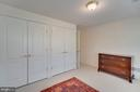 Double Closets In 5th Bedroom - 1869 AMBERWOOD MANOR CT, VIENNA