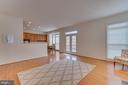 Family Room Opens To Kitchen - 1869 AMBERWOOD MANOR CT, VIENNA