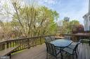 Privacy From The Deck - 1869 AMBERWOOD MANOR CT, VIENNA
