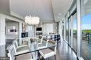 Light Filled Dining Area w/Custom Lighting - 1881 N NASH ST #1910, ARLINGTON