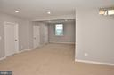 LOWER LEVEL BEDROOM - 9201 ASHLEYS PARK LN, BRISTOW
