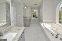 MASTER BATH - 9201 ASHLEYS PARK LN, BRISTOW
