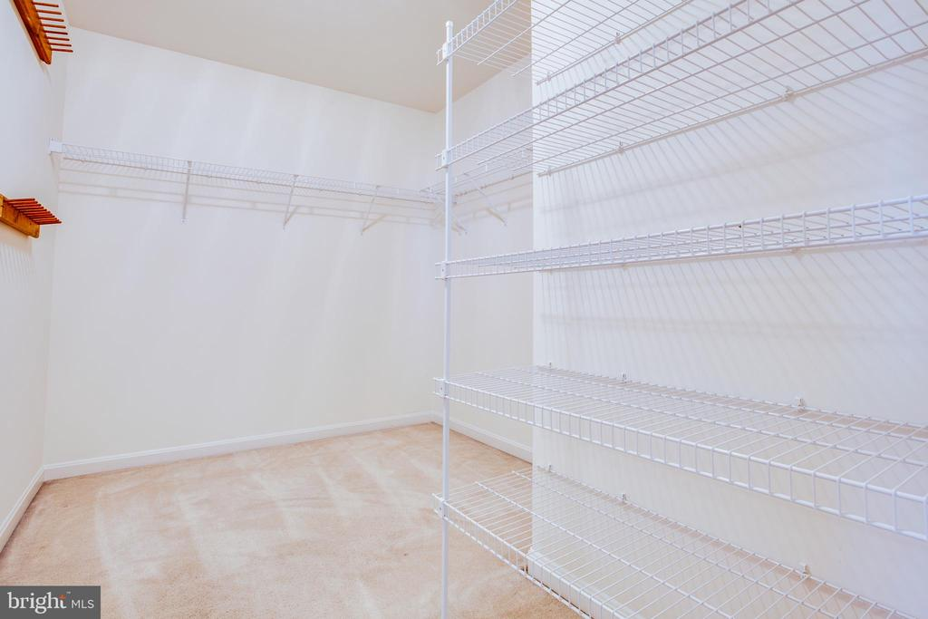 Large Walk in closet in Master BR - 1106 GREAT OAKS LN, FREDERICKSBURG