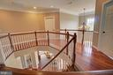 Upper Hallway with Hardwood Floors - 36158 SILCOTT MEADOW PL, PURCELLVILLE