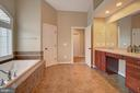 Luxury Master Bathroom - 36158 SILCOTT MEADOW PL, PURCELLVILLE