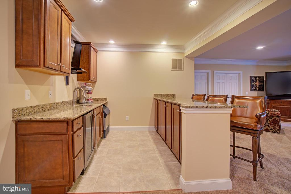 Wet Bar - 36158 SILCOTT MEADOW PL, PURCELLVILLE