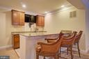 Custom Wet Bar - 36158 SILCOTT MEADOW PL, PURCELLVILLE