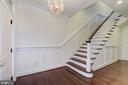 Elegant Foyer - 5124 STRATHMORE AVE, NORTH BETHESDA