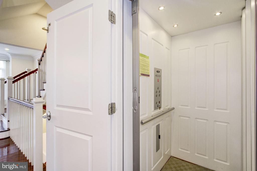 Elevator from Garage to all 3 Levels - 5124 STRATHMORE AVE, NORTH BETHESDA