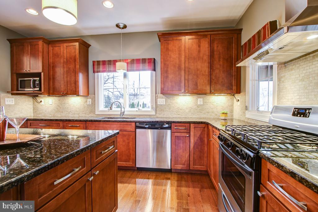 Gas cooking and granite counters - 1730 S FILLMORE ST, ARLINGTON
