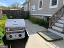 The grill stays, ready for your first cookout - 1730 S FILLMORE ST, ARLINGTON