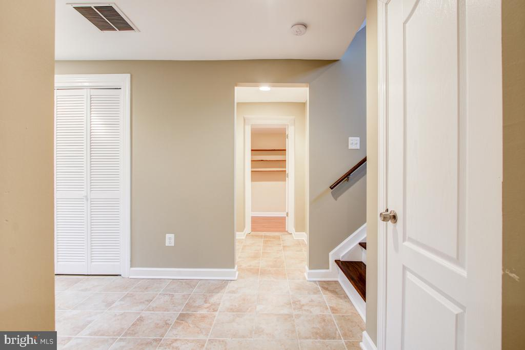 Even the basement is bright and airy - 1730 S FILLMORE ST, ARLINGTON