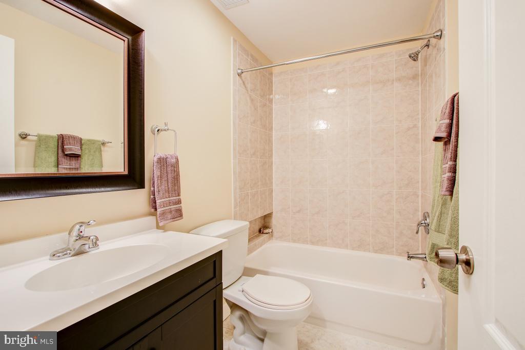Basement bath is clean and large - 1730 S FILLMORE ST, ARLINGTON