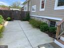 Patio is a great spot for a chiminea or fire pit - 1730 S FILLMORE ST, ARLINGTON