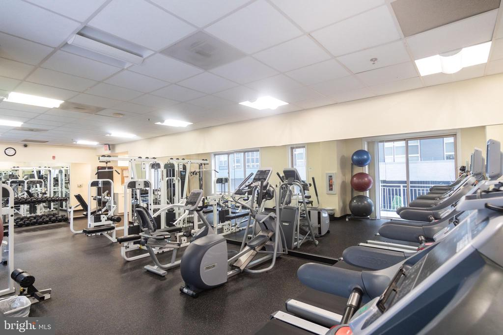 Fitness Room - 2726 GALLOWS RD #1505, VIENNA
