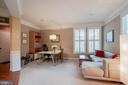 Spacious formal living area - 42953 THORNBLADE CIR, BROADLANDS