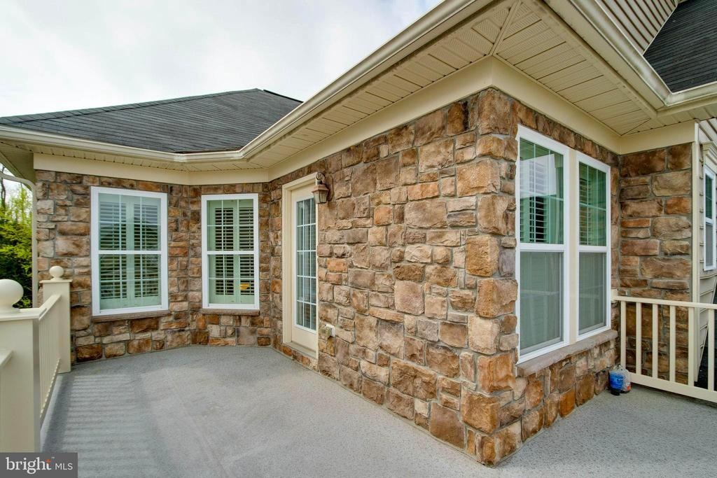 Wake up and have coffee here!  Master Bdr balcony - 42953 THORNBLADE CIR, BROADLANDS