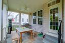 Fantastic covered patio! - 42953 THORNBLADE CIR, BROADLANDS