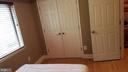 Bedroom #2 Closet - 7606 SAVANNAH ST #104, FALLS CHURCH