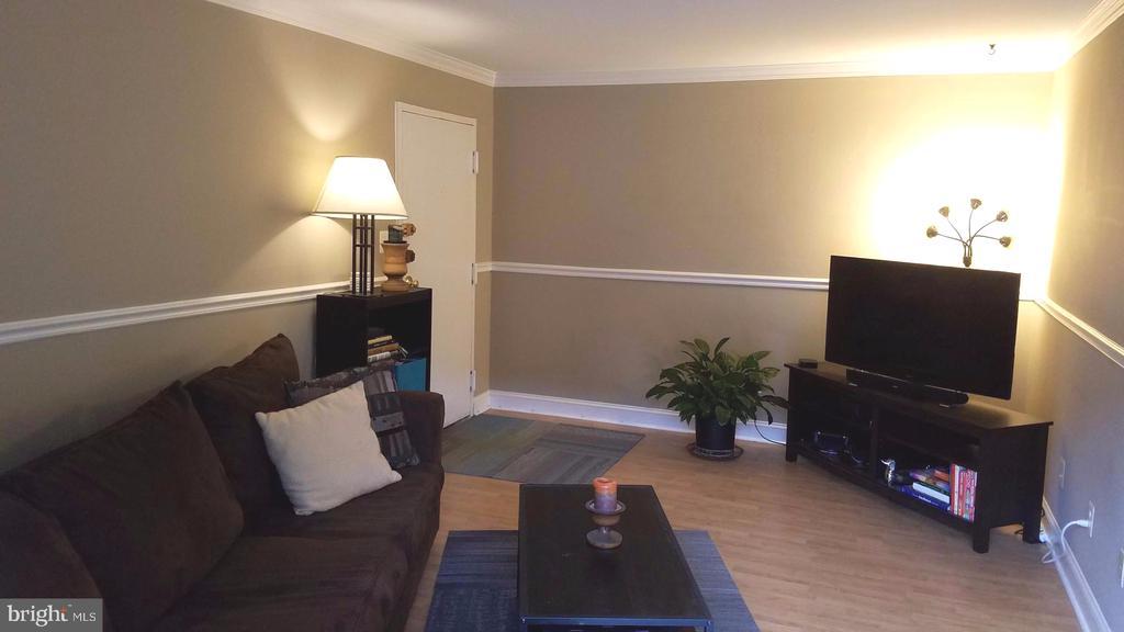 Living Room/Entry - 7606 SAVANNAH ST #104, FALLS CHURCH