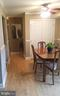 Dinning Room and Hallway - 7606 SAVANNAH ST #104, FALLS CHURCH