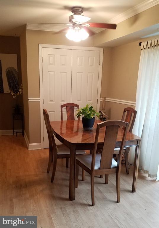 Dinning Room and Closet - 7606 SAVANNAH ST #104, FALLS CHURCH