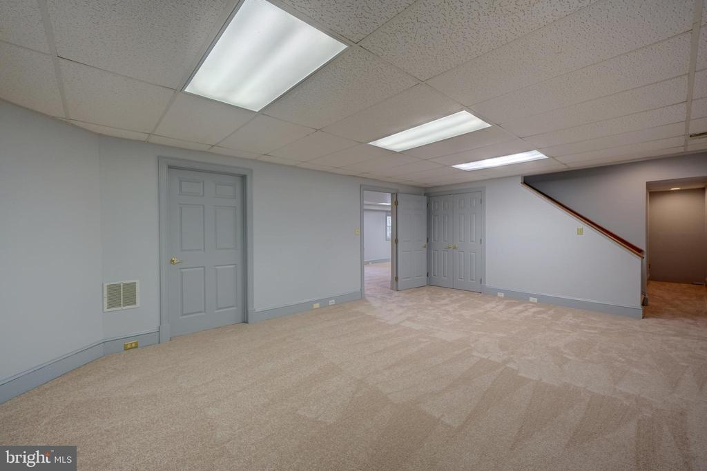 Recreation Room in Lower Level - 12126 MERRICKS CT, MONROVIA