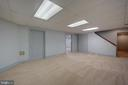 Recreation Room in Lower Level - 12126 MERRICKS CT, MONROVIA